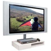 Módulo de Parede para DVD c/ gaveta ou Acessórios + Oculta Cabos Multivisão SDVD500 Branco
