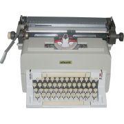 Maquina de Escrever Manual Profissional Olivetti Linea 98 Semi-Nova