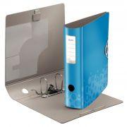 Pasta Arquivo AZ Capacidade 350 folhas Esselte Leitz Bebop Azul LE 63468