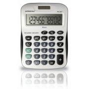 Calculadora de Mesa Procalc PC257 - 12 díg. grandes, solar/bateria, visor inclinado, tecla