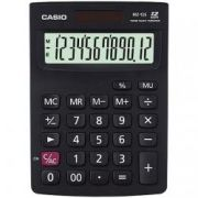 (FORA DE LINHA) Calculadora de mesa Casio MZ-12S-BK 12 Dígitos, Solar e Bateria, Branca