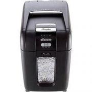 Fragmentadora de Papel Automática Swingline 250X 220V - Corta até 8 fls manualmente e até 250 fls automaticamente em Partículas N3, CD/ DVD/ Cartão/ Clipes/ Grampos, Cesto: 40L, Fenda: 229mm,