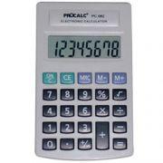 Calculadora de Bolso Procalc PC082 - 8 dígitos grandes, bateria, teclas grandes