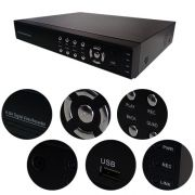 Network Digital Video Recorder h264 DVR 16 Canais