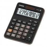 Calculadora Casio Ax-12B Mesa 12 Díg Solar e Bateria Preta
