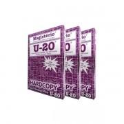 Kit de 3 Caixas Papel Hectográfico Estêncil Tatoo Roxo Hardcopy Magistério U20 100 Unid