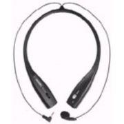 Neck Set Earset Fx-70 Fone de Pescoço Plug P1 Skype Mensseger Não Estraga O Penteado