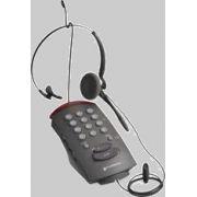 Headset Duoset com Teclado Plantronics T-10