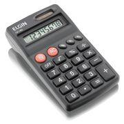 Calculadora de Bolso Elgin Cb 1482 Solar e Pilha Inclusa