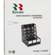 Porta Revistas 3 Divisórias Stivale