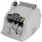 Contadora de Cédulas Menno DP6100E 127V Conta 1000 notas ou ticket por minuto, Detecção cédulas falsas