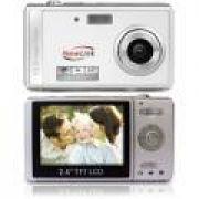 Câmera Digital Newlink CD101 Style Prata 12MP