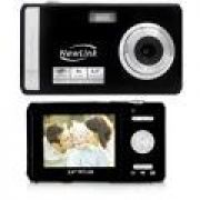 Câmera Digital Newlink CD102 Style Preta 12MP
