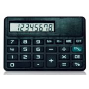 Calculadora de Bolso Zeta Zt-731 8 Dig Horizontal Bateria Grava Logomarca na Frente