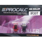 Rolete de Tinta Procalc IR30T duplo preto e vermelho para calculadoras PR640 Sharp EL1192 EL1801