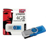 PEN DRIVE KINGSTON 4GB DT101G2 AZUL USB 2.0 BOX