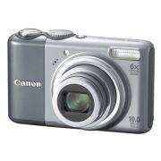 CÂM DIG 10 MP, LCD 3´´, ZOOM ÓPTICO 6X E ESTAB DE IMAGEM A2000IS CANON