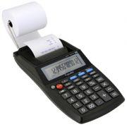 Calculadora Copiatic Cic 50 TS Visor e Impressora de 12 dígitos, Imprime 1,4 lps, adaptador bivolt incluso ou pilhas