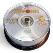 Midia DVD-R Vel. Nipponic 08x 4,7gb com 50 Unid. Pino