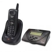 Telefone sem Fio Gigaset AC600 Preto 2.4GHz Digital, com 10 memórias, Rediscagem, 20 canais de Scan automático