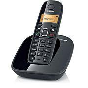 Telefone sem Fio Siemens Gigaset A390 Preto Identificador e Display Luminoso