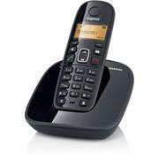 Telefone sem Fio DECT 6.0 com Viva-Voz, Id. Chamadas e Teclado Luminoso Gigaset Siemens A490 Preto