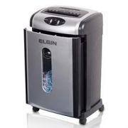 Fragmentadora Elgin Fc7150 C 110v até 15 Folhas Particulas 3,9x44mm DVD 58Db 28L
