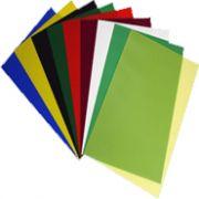Capa para Encadernação A4 Coloridas Fundo Fosca com 100 Unid. Excentrix