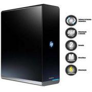 HD Externo HP Simple Save 2 TB USB com Backup Automático - Preto