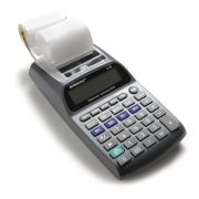 Caculadora de Impressão Procalc LP20 - Calc. Imp. 12 díg, 1 cor. Usa 4 pilhas AA (inc.) ou adap.AC biv. Opcional (IR40) - ROLETE