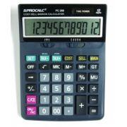Calculadora de Mesa Procalc Pc268 12 Díg Grandes Custo/Margem/Venda Impostos Solar/Bat G10