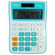 Calculadora de Mesa Procalc PC100 - LINHA VIVID COLOR, 12 díg grandes, várias cores, solar/bat