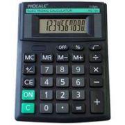 Calculadora de Mesa Procalc Pc119 10 Díg Solar/Bateria Visor Inclinado Cor Preto