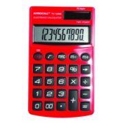 Calculadora de Bolso Procalc Pc125 Linha Metallic Vermelho Ferrari Capa Solar/Bat G10