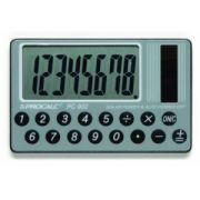 Calculadora de Bolso Procalc Pc902 8 Díg Formato Cartão Visor Hiper Grande Solar