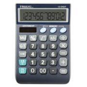 Calculadora de Mesa Truly 866-12 12 Díg Bateria e Solar Visor Inclinado G10