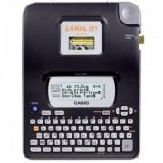 Etiquetador Rotulador Eletrônico Casio Kl-820 Código Barras Visor 4 Linhas + 3 fitas