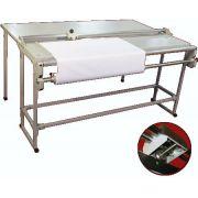 Refiladora Duplo Eixo Excentrix Rd 1,50 Base 400x1800 Corte 10 Folhas 13kg com Mesa