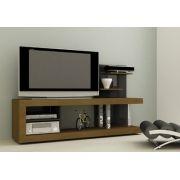 Rack para Tv até 42 Multivisão Vision Ciliegio com Preto Painel Decorativo Uv