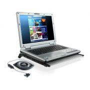 Suporte Mesa de Alumínio para Notebook com Cooler Multilaser Ac110