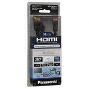 CABO HDMI MINI PANASONIC - RP-CHEM15PPK - Mini Cabo HDMI, 1,5 m