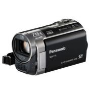 Filmadora Panasonic Sdr-T71Lb-K Memória 4gb 1 Ccd 78x Zoom Estabilizador de Imagem