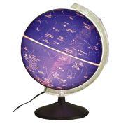 Globo Celeste Libreria CIELO, 30 cm de diâmetro, base de Ferro, iluminação interna 220v, principais constelações e estrelas