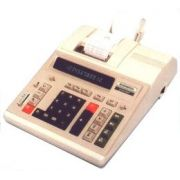 Calculadora com Impressora General Teknika 2120Pd Bivolt Semi-Nova 12 Dígitos