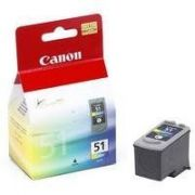 Cartucho de tinta Canon Elgin CL-51 (Alta Capacidade) iP2200, MP460, MP450, MP150/MP160/MP170/MP180, MX300, MX310