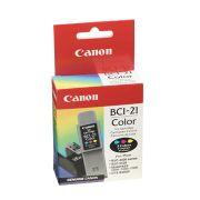 Cartucho de Tinta Canon Elgin Bci-21 Tricolor