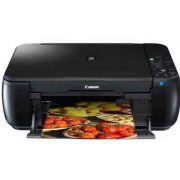 Multifuncional Canon Elgin mod. MP495 cod. 46RMP4951000 Possui três funções: impressora, copiadora e scanner, utiliza 2 cartuchos de tinta (PG210 e CL211), Wi Fi, cor preta