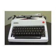 Máquina de Escrever Manual Olympia Reformada Pintura Cromeação Novas Garantia 3 Meses