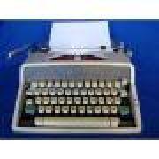 Máquina de escrever Olympia de Luxe Fabricação 1963 Com Estojo Revisada com Garantia de 3 meses