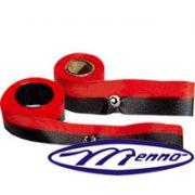 Fita Relógio de Ponto Tagus/Dimep Preto/Vermelho Pvf 19x3 Menno Gráfica Mf 501